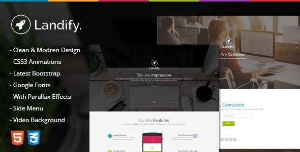 Landify – One Page Parallax