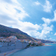 City Coast With Sea and Clouds - VideoHive Item for Sale