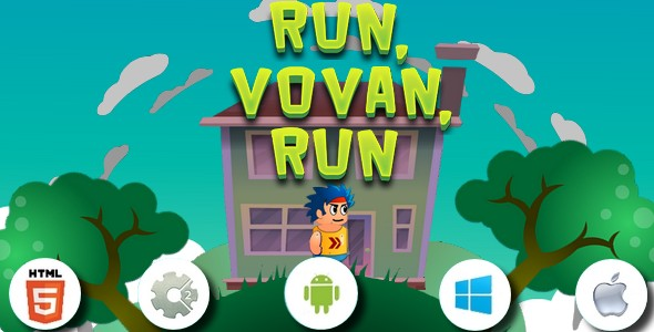 Run, Vovan, run - HTML5 game.capx - CodeCanyon Item for Sale