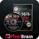 The Devil Moon DVD Album Artwork Vol. 2 - GraphicRiver Item for Sale