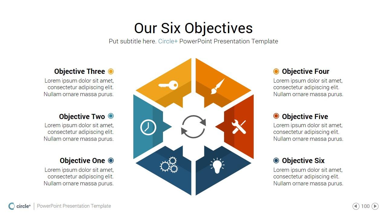 circleplus - powerpoint presentation templateedcandra, Presentation templates