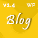 BestBlog - Responsive WordPress Blog Theme Nulled