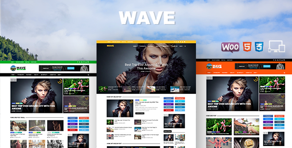 Wave  – Multi-purpose WordPress Magazine Theme