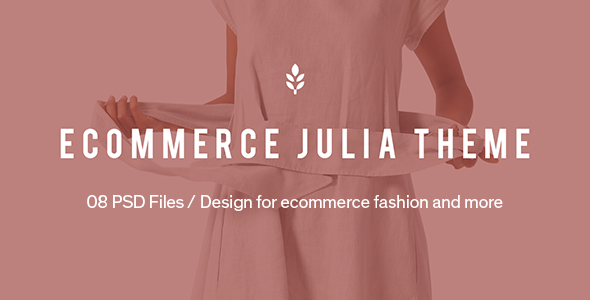 Julia – Ecommerce PSD Template