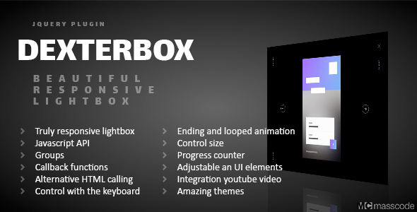 Dexterbox - Beautiful responsive lightbox  - CodeCanyon Item for Sale