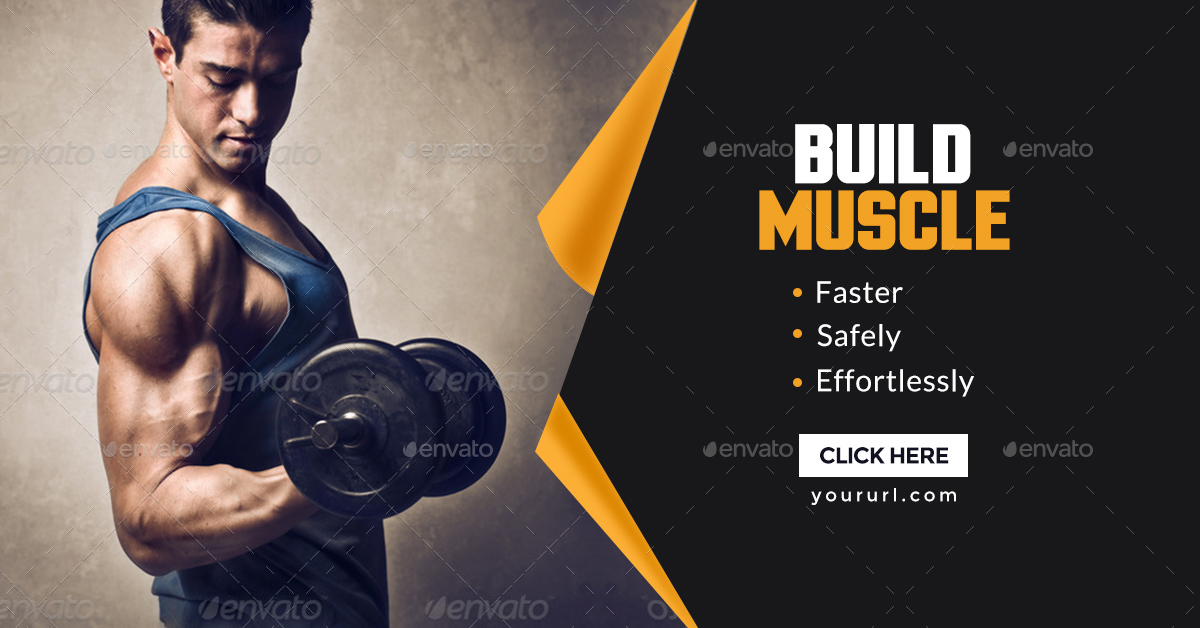Gym fitness banners by doto graphicriver