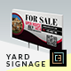 Modern Real Estate Yard Signage 1 - GraphicRiver Item for Sale