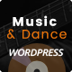 Music & Dance WordPress Theme - ThemeForest Item for Sale