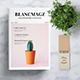 Blancmagz Magazine Template - GraphicRiver Item for Sale