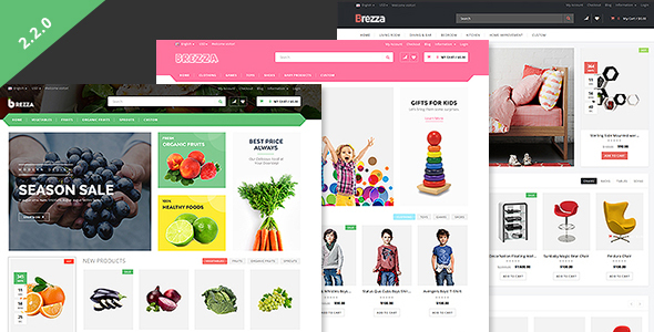 Brezza – Responsive OpenCart Theme