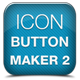 Icons / Buttons Maker Pro 2 - GraphicRiver Item for Sale