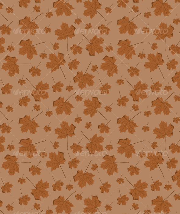 Autumn Leaves Pattern - Patterns Decorative