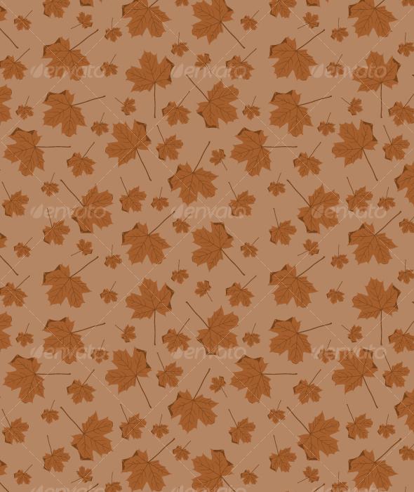 Autumn Leaves Pattern - Patterns Decorative