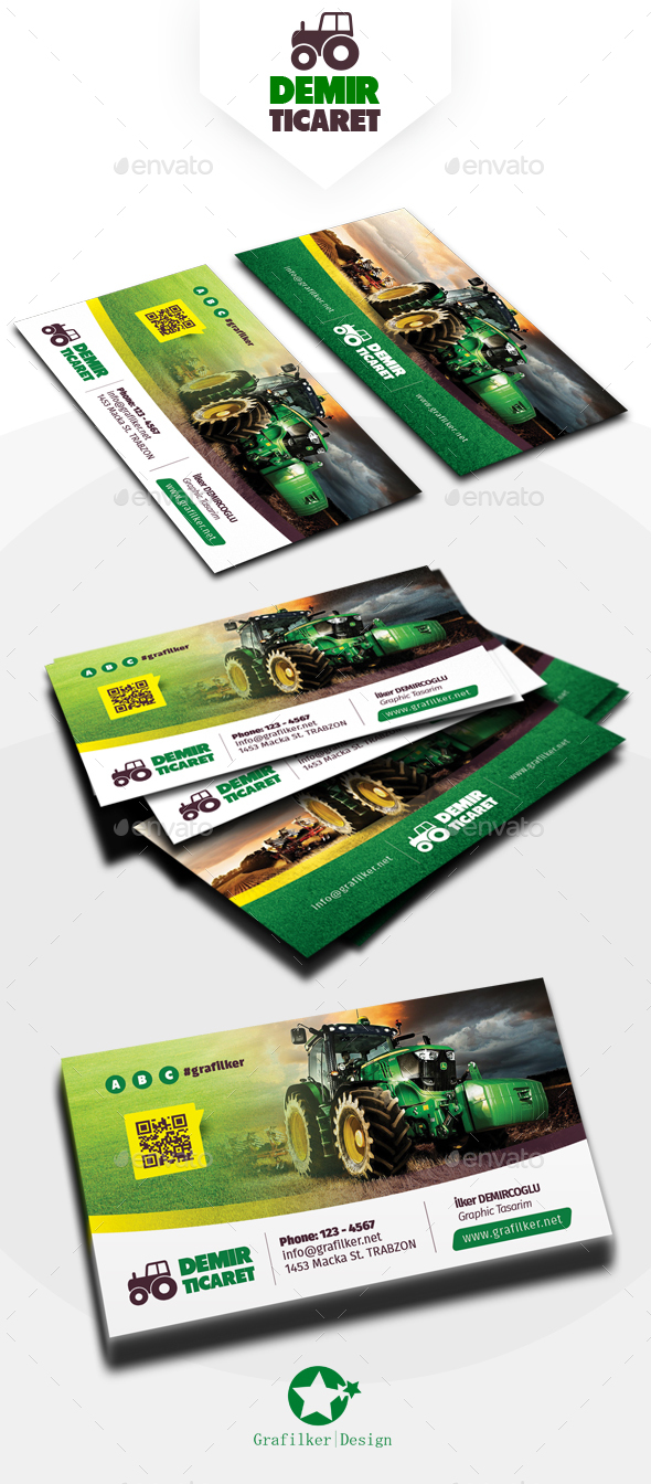 Garden landscape business card templates by grafilker graphicriver garden landscape business card templates corporate business cards magicingreecefo Images