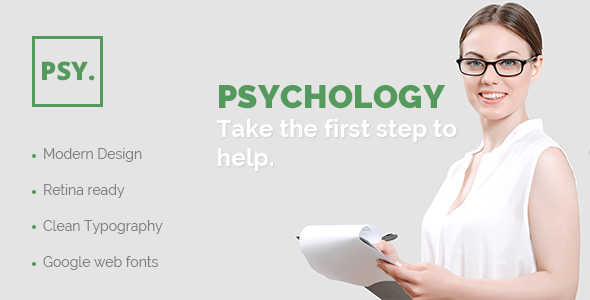 PSY – PSD Template for Psychologists, Counselors & Psychiatrists - PSD Templates