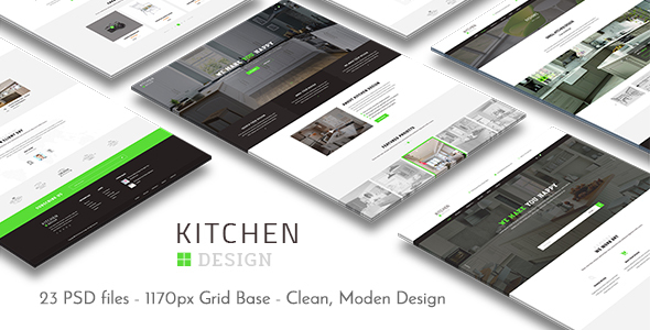 Kitchen – PSD Template