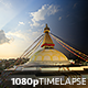 Kathmandu day to night transition - VideoHive Item for Sale