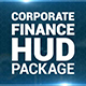 Corporate Finance HUD Pack and Opener - VideoHive Item for Sale