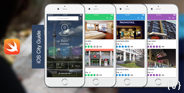 iOS City Guide - Sleep, Eat, Enjoy - CodeCanyon Item for Sale