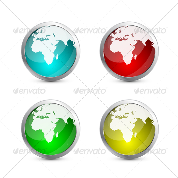 Glass globes - Business Conceptual