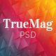 TrueMag - Multiconcept Magazine/Blog/Newspaper PSD Template
