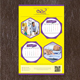 Wall Calendar Design Template V1 - GraphicRiver Item for Sale