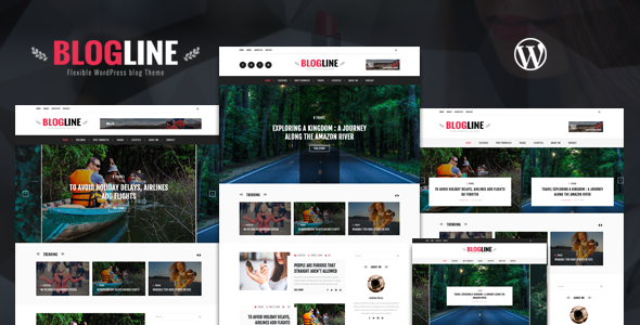 Blogline – Responsive WordPress Blog Theme