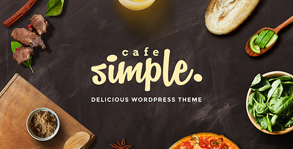 Cafe and Restaurant WordPress Theme – SimpleCafe
