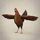 Game Ready Realistic Hen