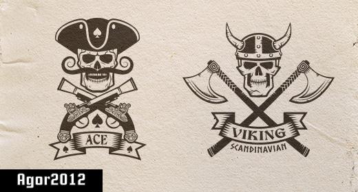 Pirate and Viking