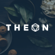 THEON - Minimal & Creative Keynote Template - GraphicRiver Item for Sale