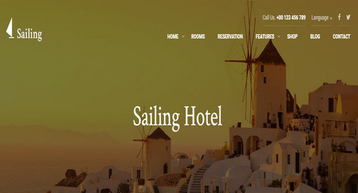 WordPress Hotel Reservation Theme