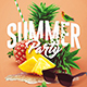 Fresh Summer Party | Psd Flyer Templates - GraphicRiver Item for Sale