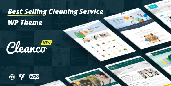 Cleanco - Cleaning Company WordPress Theme - Business Corporate