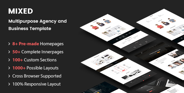 MIXED – Multipurpose Agency and Business Template