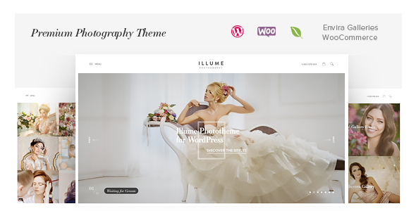 Illume – Romantic Photography WordPress Theme