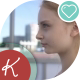 Young Woman Looking Into The Distance - VideoHive Item for Sale