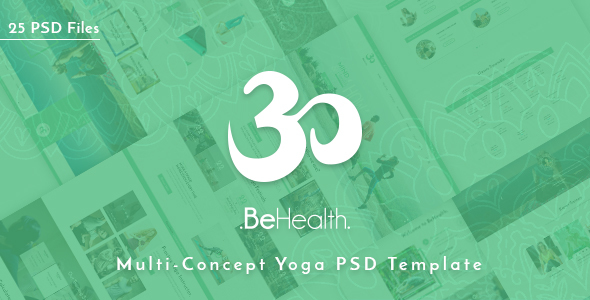 BeHealth – Yoga & Health Center PSD Template