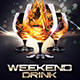 Weekend Drink Party - GraphicRiver Item for Sale