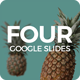 Four - Google Slides Presentation Template - GraphicRiver Item for Sale