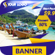 Holiday Travel Banner - GraphicRiver Item for Sale