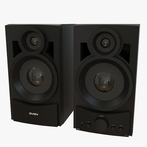 Speaker system - 3DOcean Item for Sale