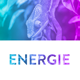 ENERGIE - Colorful Coming Soon Template Nulled