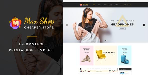 Maxshop – Responsive eCommerce Prestashop Theme