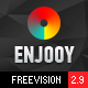 ENJOOY - Responsive Multi-Purpose WordPress Theme Nulled
