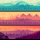 Nature Landscape Set - GraphicRiver Item for Sale