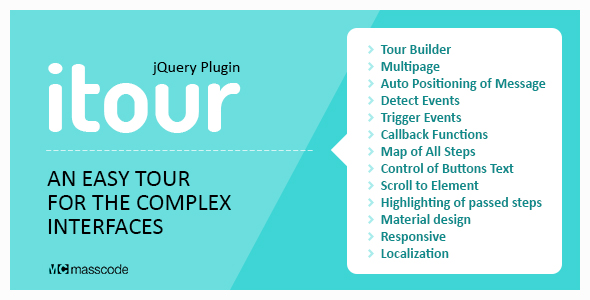 iTour - An Easy Tour for the Complex Interface - CodeCanyon Item for Sale