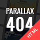 Parallax 404 Pages Pack - ThemeForest Item for Sale