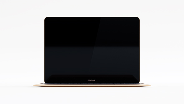 "12"" Apple MacBook 2016 - 3DOcean Item for Sale"