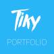 Tiky - Photorgapher Portfolio - ThemeForest Item for Sale
